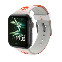 MobyFox Star Wars Rebel White Apple Watch 42mm, 44mm Band ST-DSY42STW2006