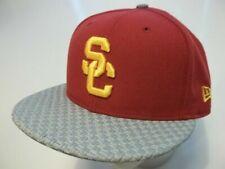 USC//Southern Cal//SC Trojans Adult New Era SnapBack Heather Gray Hat
