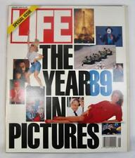 Life Magazine Special Issue The Year 1989 In Pictures January 1990 Vintage (O)