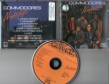 Commodores  CD  NIGHTSHIFT  (c) 1985   ORANGE FACE  /  NO TARGET