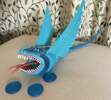 DRAGONS DEFENDERS OF BERK BLUE THUNDERDRUM DISC SPITTING ACTION FIGURE TOY