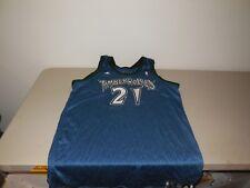Adidas Minnesota Timberwolves Kevin Garnett Team Basketball Jersey Sz 52