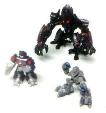Transformers Robot Heroes caído Oversize V Optimus Prime + Megatron Figuras de juguete
