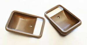 MAZDA B2000 B2200 B2600 FORD COURIER DOOR SCRATCH PADS PLATES BROWN