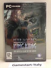 PETER JACKSON'S KING KONG (PC COMPUTER) VIDEOGIOCO NUOVO SIGILLATO NEW
