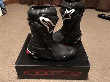 Alpinestars Supertech R Boots Euro 44 UK 10 Black