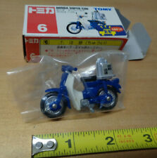 TOMY 6 - HONDA SUPER CUB - Motor Bike 1/33 scale - TOMICA motorcycle scooter NEW