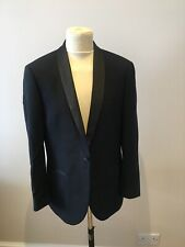 Mens Next 2 Piece Suit Size 42R Charcoal Grey Trousers W34 L29 Slim Fit Suit