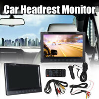 9 inch Universal Digital Car DVD Headrest Monitor Player TFT LCD HDMI 1080P