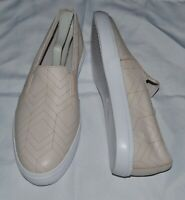 NEW Lacoste Women's Gazon Camel Leather Fashion Slip~On Sneaker Shoe sz. 10 M