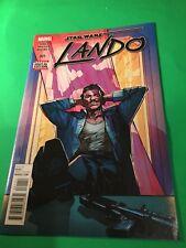 STAR WARS  Lando #001 Marvel comics, Comic Block variant cover.Mint