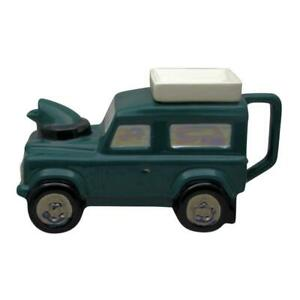 Land Rover Teapot Green Colourway Made at Teapottery Birthday Christmas Gifts