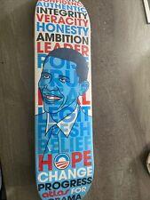 Atlas skateboard Deck Hope change Progress President Obama