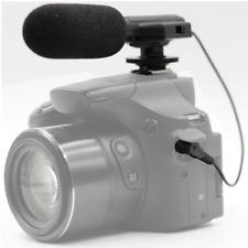 Panasonic Lumix DC-FZ80 Digital Camera External Vivitar Mini Zoom Microphone