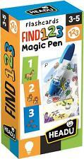 Headu Trouve 123 Stylo Magique Flashcards Éducatif Apprentissage Jeu Âge 3+ BN