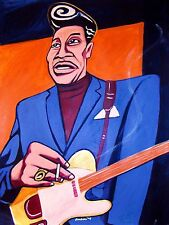MUDDY WATERS PRINT poster mississippi delta blues chess masters cd telecaster