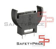 2x Portapila VERTICAL porta pila Boton 3v CR2032 - BATTERY CELL SOCKET SP