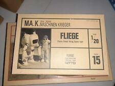 MA.K. Maschinen Krieger Fliege Panzer Kampf Nitto 1/20 Scale Model NEW FREE SHIP