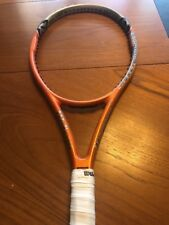 Wilson Hyper Carbon Hammer 5.2 95 Sq In Midplus No. 4 4 1/2 Grip Tennis Racquet