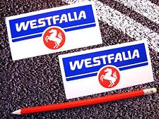 WESTFALIA Logo Stickers  VW VDUB Splitty Bay T2 Volkswagen Original Size T25