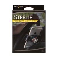 Nite Ize Steelie Freemount Car Mount Kit - Magnetic Phone-to-Dash Mount System