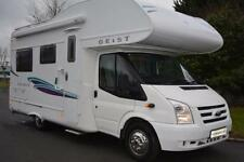 4 Sleeping Capacity Campervans & Motorhomes 2008