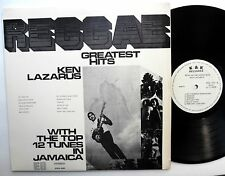 KEN LAZARUS Reggae Greatest Hits LP K&K Reggae Ska NEAR-MINT vinyl