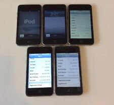 Lot of 5x Apple iPod touch 2nd/3rd Generation Black (32 GB) *As Is*