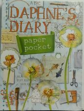 Daphne's Diary Paper Pocket 40 Different Paper Items Noteblock FREE SHIPPING sb