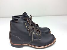 Red Wing Heritage Blacksmith Black Prairie Leather Boots Size 9 D Men's 3345