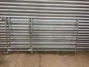 LOOPED GATED SHEEP HURDLE MANY SIZES AVAILABLE HOT DIP GALVANISED