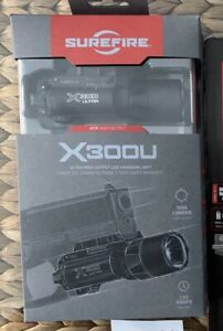 SureFire X300U-A High Output 1000 Lumen LED Handgun Light - Black NEW IN BOX