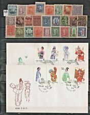 CHINA  LOT OF VERY OLD STAMPS + ENVELOPES    #  3B