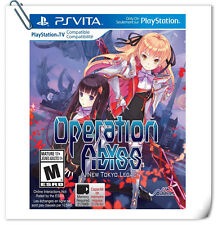 PSV Operation Abyss: New Tokyo Legacy SONY PlayStation VITA RPG Game NIS America