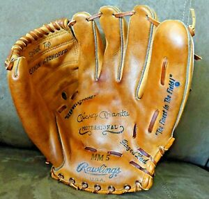 Mickey Mantle Professional MM5 Rawlings Baseball Glove RHT Excellent!!