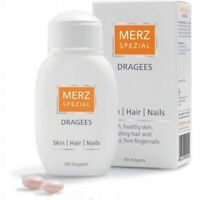 MERZ SPEZIAL SPECIAL 60-120-360 DRAGEES BEAUTY VITAMINS HEALTHY SKIN HAIR NAILS