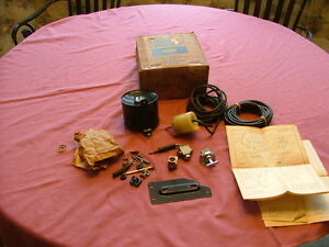 1965 Mercury trunk lid vacuum lock kit, full sized and Comet, NOS! release