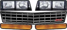 81-88 Monte Carlo Headlight Decal Stickers,asphalt or dirt nose decal stickers