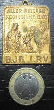 médaille penning ALLER RIDDEREN KONINGINNE B.V.Q. B.J.B L.R.V Wezemaal 1954
