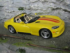 Bburago Dodge Viper RT/10 1:18 Yellow
