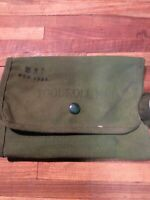 1940's/1950Vintage Canvas M10 Tool Roll  WWII/Korean War FREE SHIPPING INV-V404