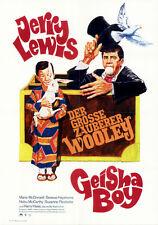 Der Geisha Boy ORIGINAL A1 Kinoplakat Jerry Lewis GRAFIK: Auerswald