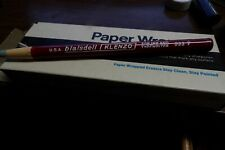 Full Box 1 Dozen 12 Vintage Berol Blaisdell 533T Klenzo Stick Erasers New NOS