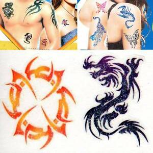Body Tattoo Sticker Self Adhesive Bodyart Body Sticker Body Jewelry