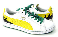 Puma Shoes Basket 70's Champs White/Yellow/Green Sneakers Size 8 EUR 40.5