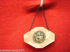 Jolie ancienne médaille, Notre Dame de L'Epine
