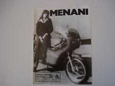 advertising Pubblicità 1975 MENANI