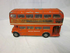 Corgi Diecast London Transport Route Master Double Decker Bus ~ Great Britain