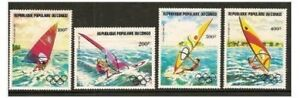 Congo (Brazzaville) - 1983 Air. Pre Olympic Year (Sailing) set - MNH - SG 908/11