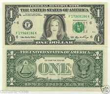 A See Nicole Kidman Real Note Banknote 1 US Dollars